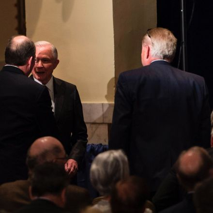 Photograph places Jeff Sessions, Russian ambassador together at the Mayflower Hotel