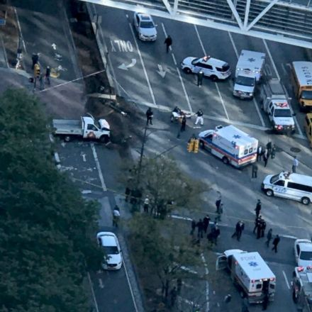 6 dead after driver plows into people on NYC bike path