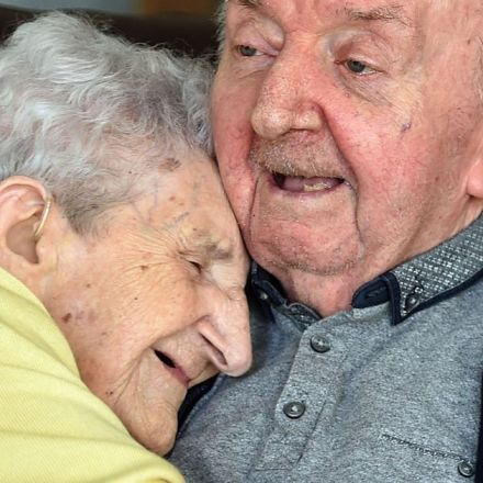 Mum aged 98 moves into care home to look after her 80-year-old son