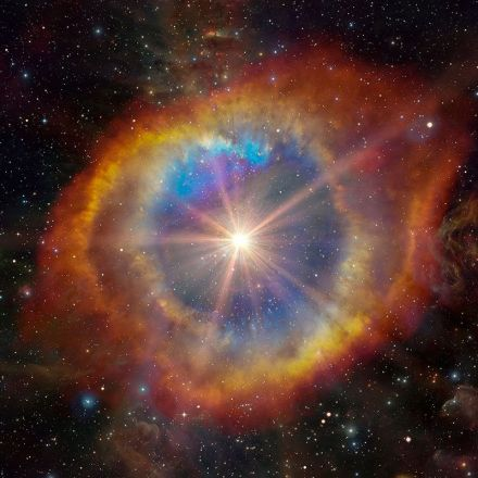 A star has been seen exploding faster than any other on record