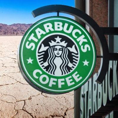 Starbucks wants you to feel good about drinking up California's precious water
