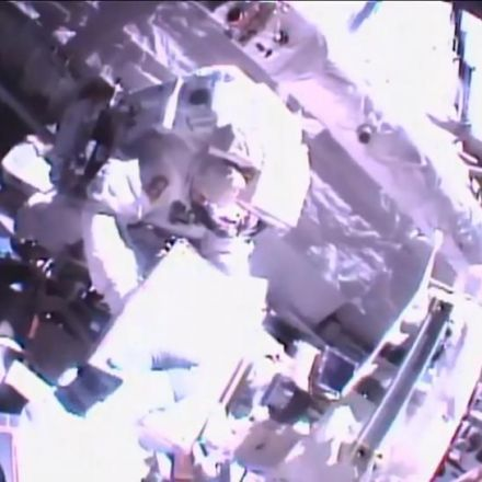 Astronauts upgrade station power system in six-hour spacewalk