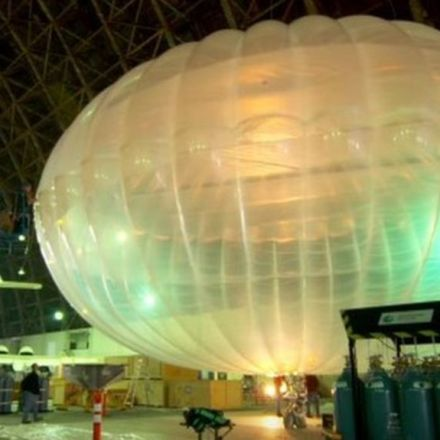 Google's Project Loon internet balloons to circle [part of the] Earth
