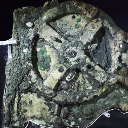 The Antikythera mechanism is a 2,000-year-old computer