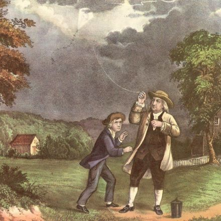 Benjamin Franklin and His Son, Divided by Independence