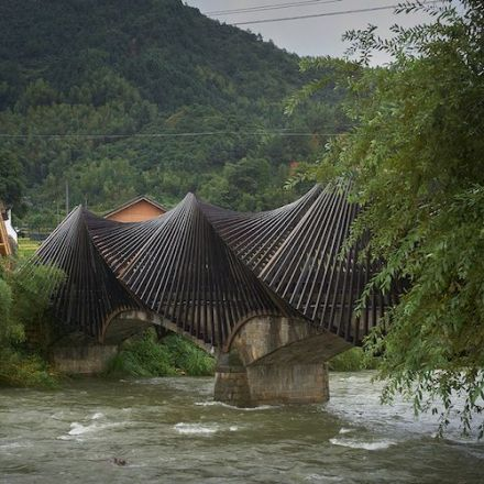 First Bamboo Biennale Creates Cutting-Edge Structures in Small Chinese Village