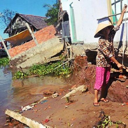 Major rivers of Vietnam's Mekong Delta become unusually deeper