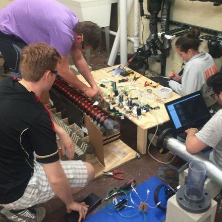 University Students Made a Working Model Hyperloop