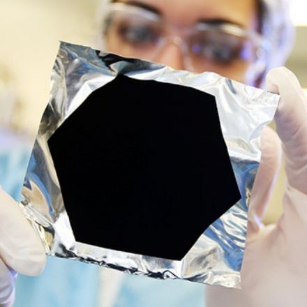 World's Blackest Material Now Comes in a Spray Can