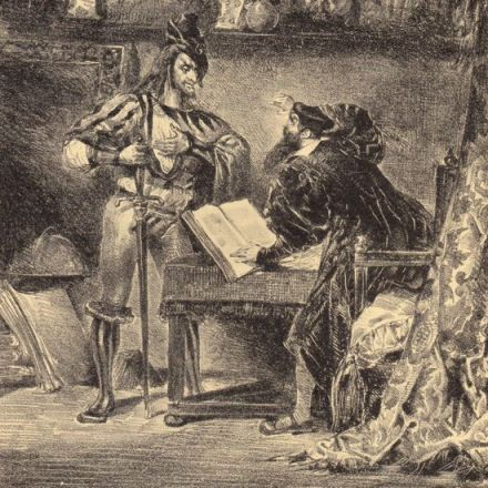 Delacroix's Rare Illustrations for Goethe's Faust