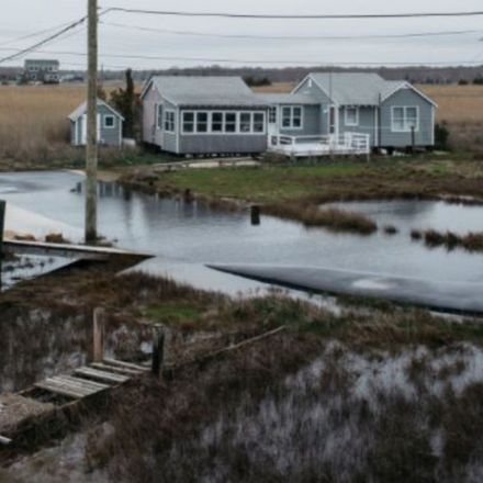 Rising Seas May Wipe Out These Jersey Towns, but They're Still Rated AAA