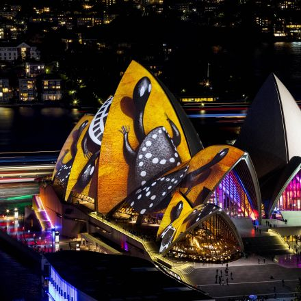 Sydney Opera House sails to light up every sunset with Indigenous art
