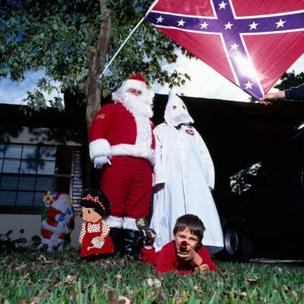 Born Into Hate: Disturbing Historical Photos Of Kids In The Ku Klux Klan