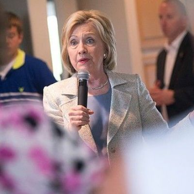 Questions over Keystone XL dog Clinton on campaign trail