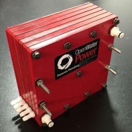 Batteries that 'drink' seawater could power long-range underwater vehicles