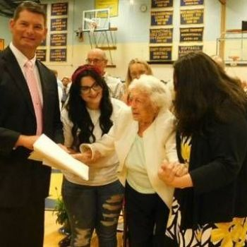 Irish woman (107) who emigrated to America finally gets high-school diploma