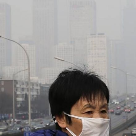 A towering feat: China builds 'world's biggest air purifier'