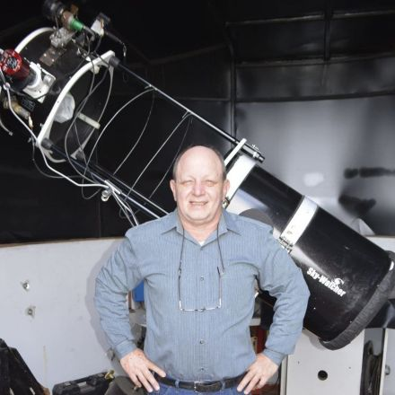 A self-taught astronomer spotted something no scientist had ever seen