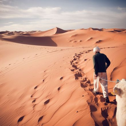 Humans delayed the onset of the Sahara desert by 500 years