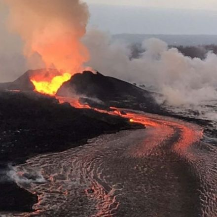 Hawaii volcanic eruption that created a new peninsula could last as long as 2 years