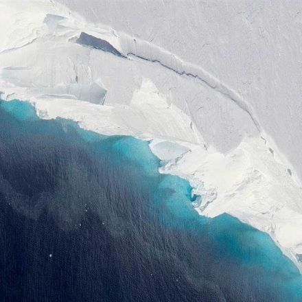 A hole big enough to fit two-thirds of Manhattan has formed under an Antarctic glacier