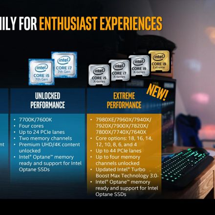 Intel Announces Skylake-X: Bringing 18-Core HCC Silicon to Consumers for $1999