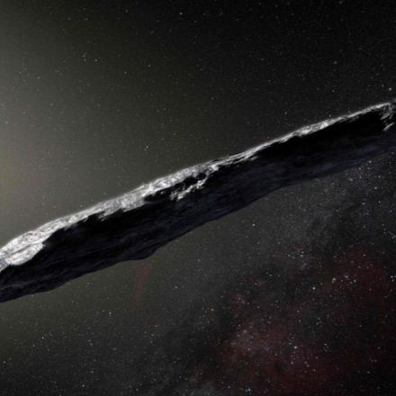 Cigar-shaped Interstellar Object 'Oumuamua' - is Speeding Up