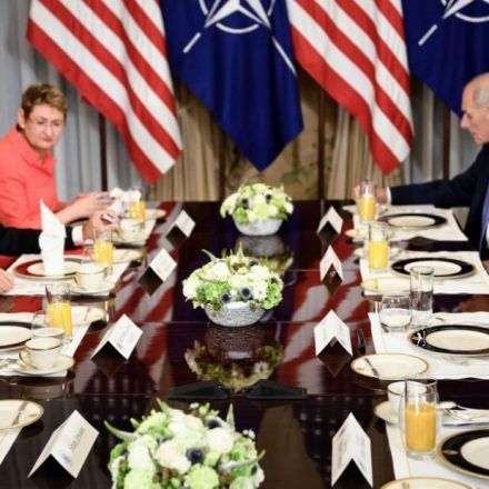 Trump's NATO comment made his own staff squirm