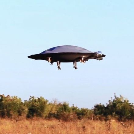 Romanian Engineers Have Created a Fully Functional Flying Saucer