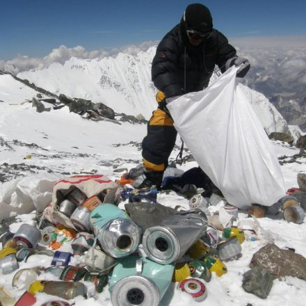 How Much Trash Is on Mount Everest?