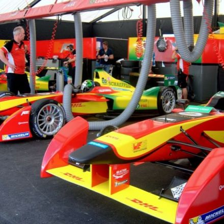 Racing goes electric: At the track with Formula E, the first e-racing series