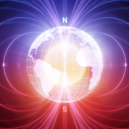 Earth's north magnetic pole has officially shifted