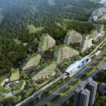 "China Has Officially Started Construction on the World's First ""Forest City"""