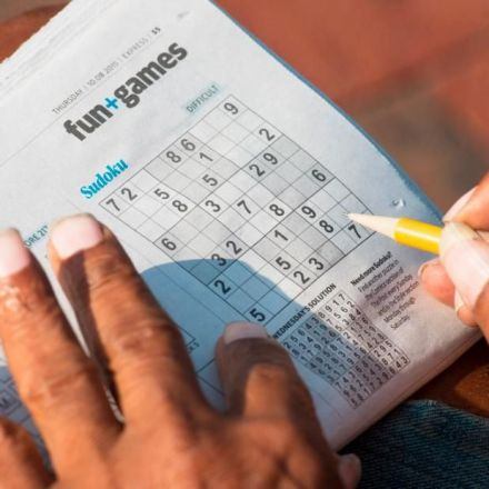 Crosswords and puzzles don't prevent mental decline, study says