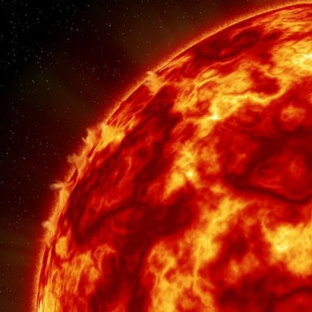 A huge solar flare temporarily knocked out GPS communications