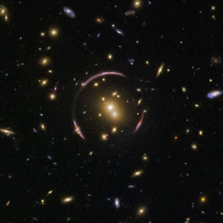 Hubble Finds an Einstein Ring