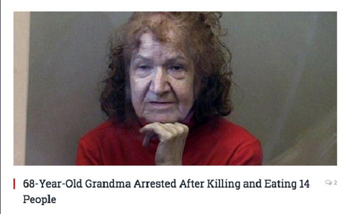 Granny Ripper  The Cannibal Crone