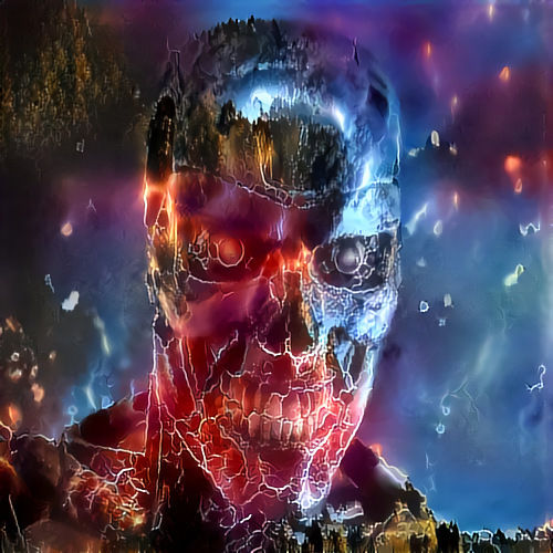 Terminator Deep Dream