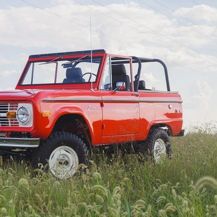 You can now order a brand-new, first-gen Ford Bronco