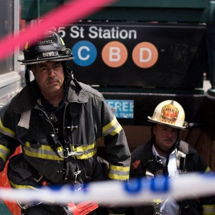 Subway Derailment in Manhattan Injures Dozens