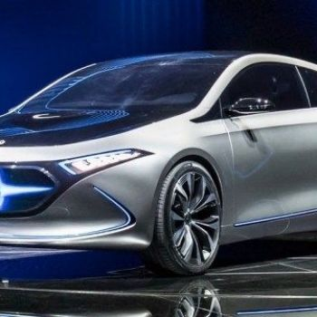 "Electric ""Mercedes"" will be charged in five minutes"