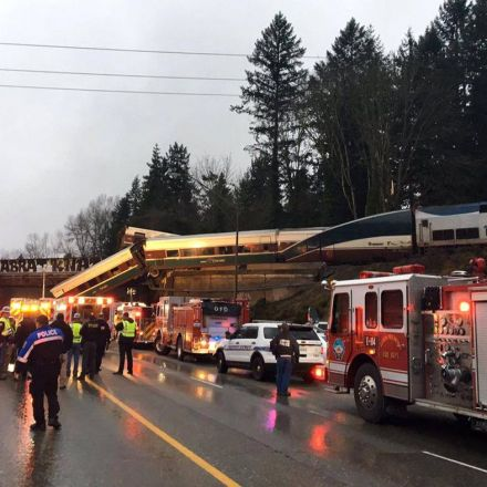 Amtrak train derails in Washington; fatalities reported