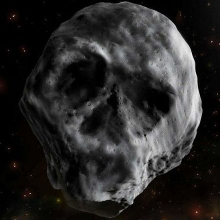 Skull-shaped asteroid will fly past earth after Halloween