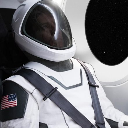 Elon Musk just revealed what a SpaceX spacesuit looks like