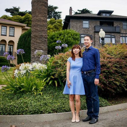 Rich SF residents get a shock: Someone bought their street