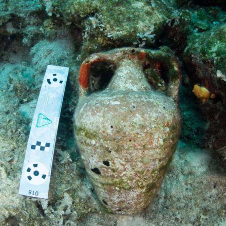Eight Ancient Shipwrecks Found Off The Coast Of Greek Island