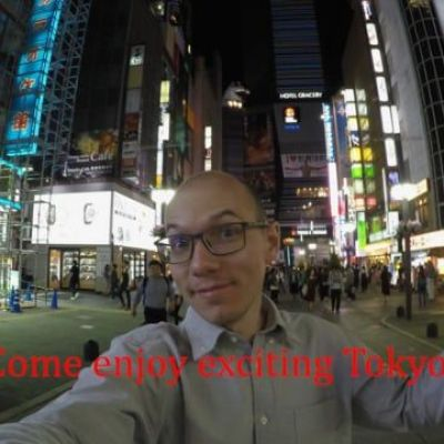 Come enjoy exciting Tokyo! [NSFW]