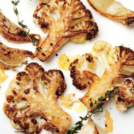 Parmesan-Roasted Cauliflower  Recipe - Bon Appétit