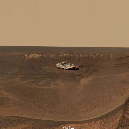 Opportunity did not answer NASA's final call, and it's now gone to us