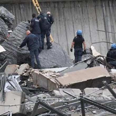 At least 22 killed as Italian highway bridge collapses